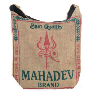 Jute Shoulder Bag Mahadev Jhola
