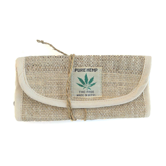 HEMP Tobacco Pouch made from 100% natural, organic and eco-friendly handwoven HEMP