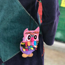 Load image into Gallery viewer, Owl Mini Purse