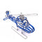 Miniature Wire Art Helicopter hand-crafted from aluminium wire
