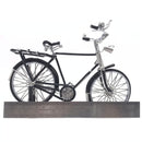 Miniature Wire Art Vintage Cycle hand-crafted from aluminium wire