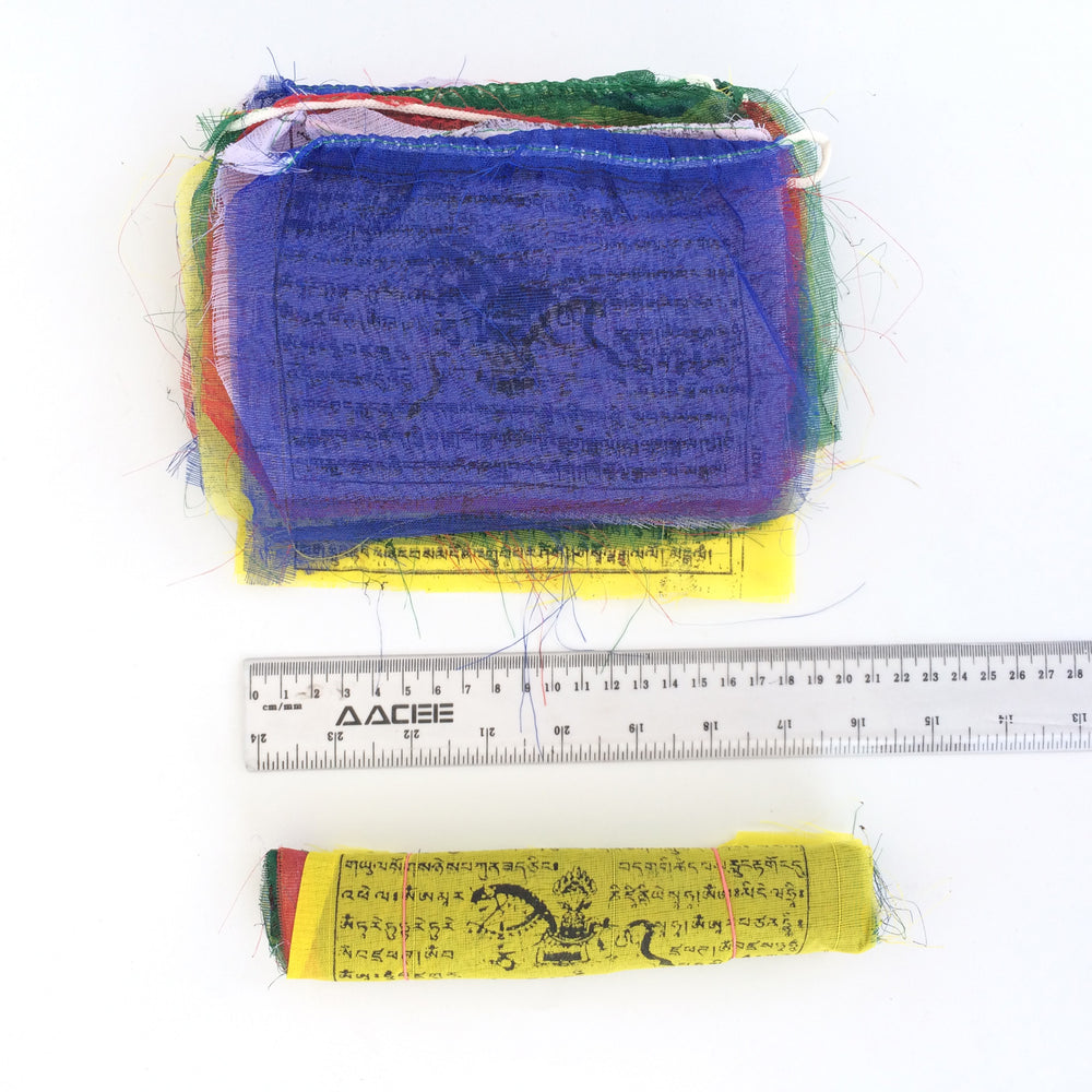 Buddhist Tibetan Prayer Flag Medium 360cms dimensions