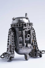 Load image into Gallery viewer, Starwars R2D2 action figure hand-crafted from junk auto parts