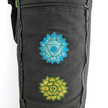 Load image into Gallery viewer, Yoga Mat Bag Chakras with hand-embroidery