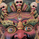 Guardian Bhairav Wooden Wall Mask big size