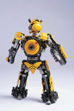 Load image into Gallery viewer, Transformers Bumblebee metal action figure hand-crafted from junk auto parts with attention to detail