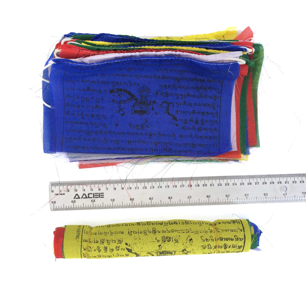 Buddhist Tibetan Prayer Flags Large 480cms dimensions