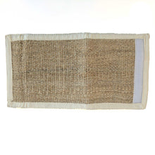 Load image into Gallery viewer, wallet made from 100% pure hemp rear view