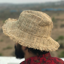 Load image into Gallery viewer, HEMP Hat made from 100% natural, organic and eco-friendly handwoven HEMP