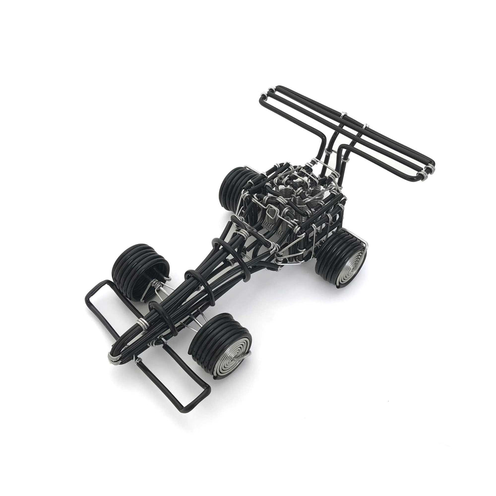 hand-crafted Wire-Art Formula-1 Car
