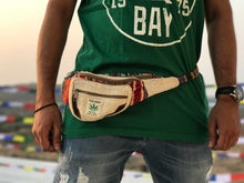 Load image into Gallery viewer, HEMP Fanny Pack made from 100% natural, organic and eco-friendly handwoven HEMPFanny Pack