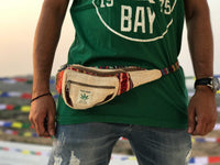 HEMP Fanny Pack made from 100% natural, organic and eco-friendly handwoven HEMPFanny Pack