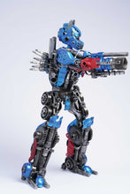 Load image into Gallery viewer, Transformers Optimus Prime metal action figure hand-crafted from junk auto parts with attention to detail