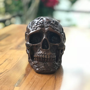 Skull Ashtray made from resin