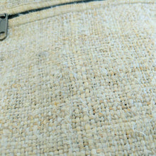 Load image into Gallery viewer, Hemp backpack made from 100% pure hand-woven Hemp fabric view
