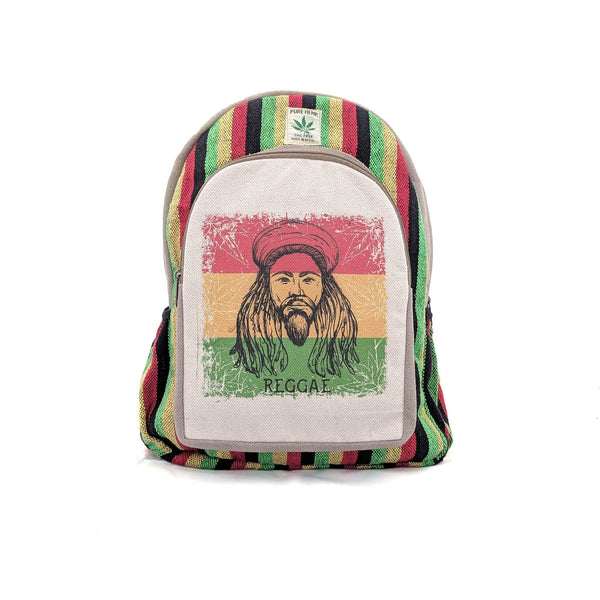 Hemp Backpack Rasta