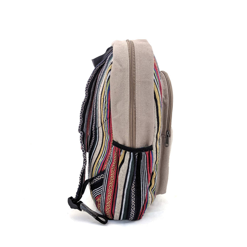 Hemp Backpack Skull