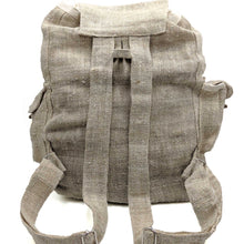 Load image into Gallery viewer, Pure hemp sack backpack