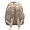 Backpack made from 100% pure hand-woven Hemp back view