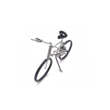 Load image into Gallery viewer, Miniature Wire Art Bicycle D hand-crafted from aluminium wire