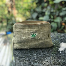 Load image into Gallery viewer, Pure Hemp Pouch made from 100% pure hand-woven HEMP