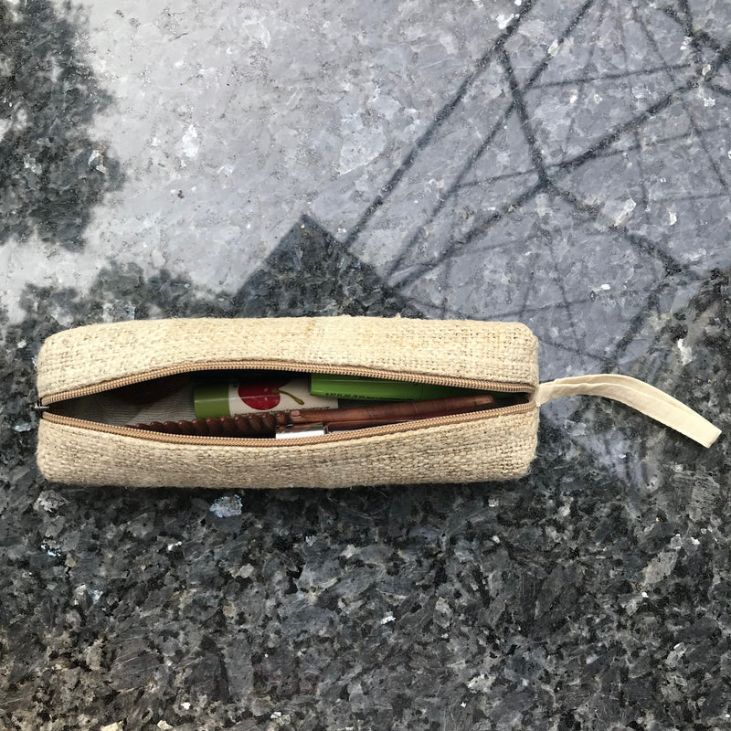 Pure Hemp Long Case made from 100% pure HEMP with men travel accessories