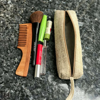 Pure Hemp Long Case made from 100% pure HEMP with women travel accessories