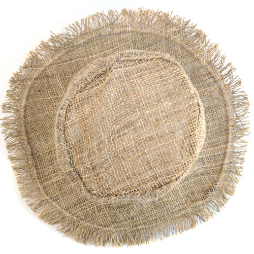 HEMP Hat made from 100% natural, organic and eco-friendly handwoven HEMP