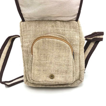 Load image into Gallery viewer, Pure Hemp Messenger Bag made from 100% pure HEMP