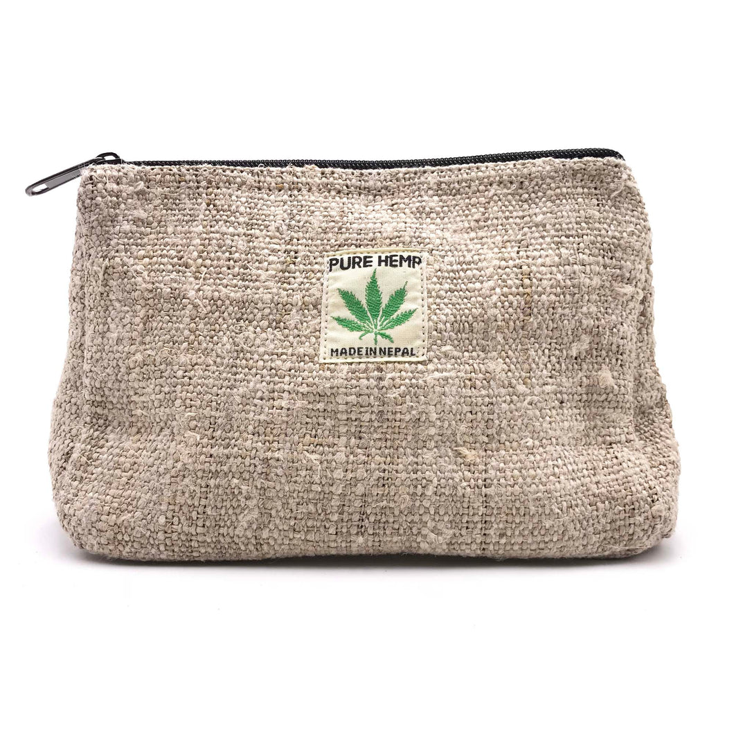 Pure Hemp Pouch made from 100% pure hand-woven HEMP