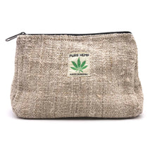 Load image into Gallery viewer, Hemp Bags, pouches and wallets made from 100% pure and natural hand-woven HEMP