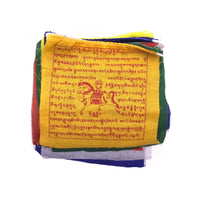 Buddhist Tibetan Prayer Flag Small 130cms roll open