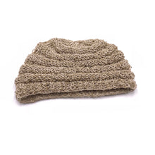Load image into Gallery viewer, Hemp Beanie made from 100% pure hand-woven Hemp