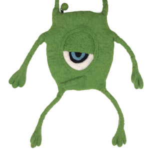 Felt Sling Bag monster ball