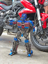 Load image into Gallery viewer, Transformers Optimus Prime hand-crafted from metal