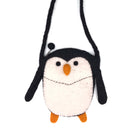 Penguin Sling Bag made from felt