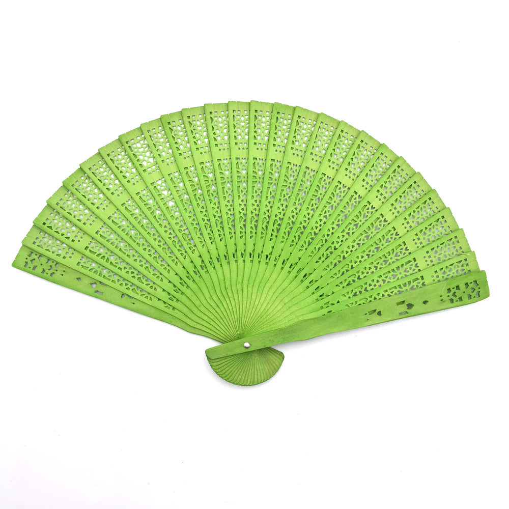 Wooden Scented Folding Fan