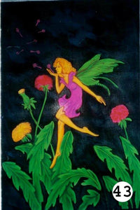 UV Glow Painting Fairy Flying Kiss