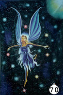 UV Glow Painting Fairy in Universe