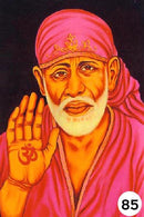 UV Glow Painting Sai Baba Shirdi
