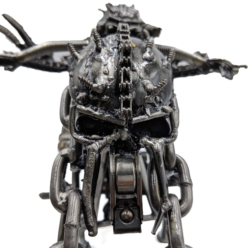 Predator Metal Art Figurine