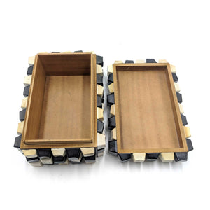 Wooden Box Keyboard Keys