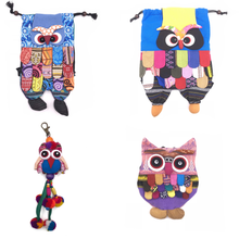 Load image into Gallery viewer, owl backpack owl mini purse owl keychain combo