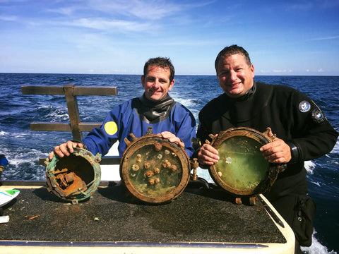 Capt's Jimmy and Andy with Portholes