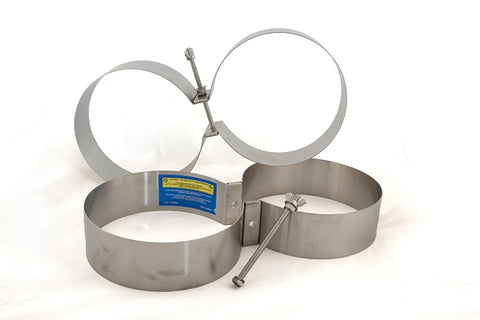 Light Monkey Stainless Steel Tank Bands