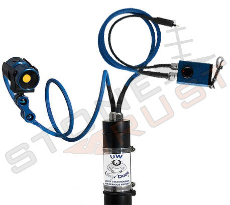 StoneRust.com - Underwater Light Dude - Underwater Light Dude Dual Cord Canister System with Heat Controller and Light - 1