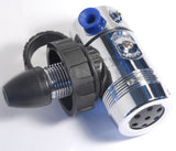 StoneRust.com - Scubaforce - Black Devil 1st Stage Regulator with Swivel Turret - 1