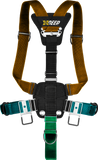 STEALTH 2.0 sidemount Harness with weight system (central weight pocket, no side trim pockets)