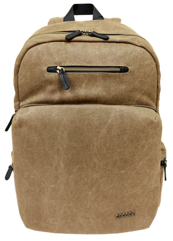 "Cocoon Urban Adventure 16"" Laptop Backpack-Khaki - Laptopbags.co.uk"