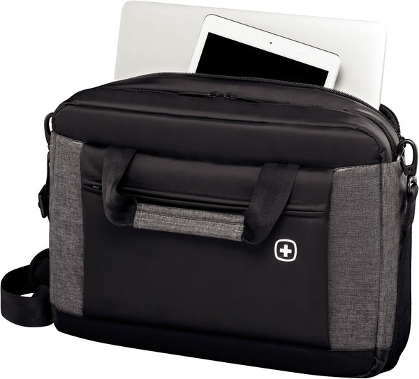 "Wenger Underground 16"" Laptop Briefcase with Tablet Pocket - Laptopbags.co.uk"